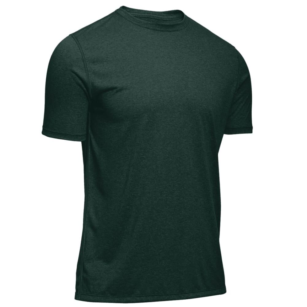 EMS Men's Techwick Essentials Short-Sleeve Crew - PINE GROVE HEATHER