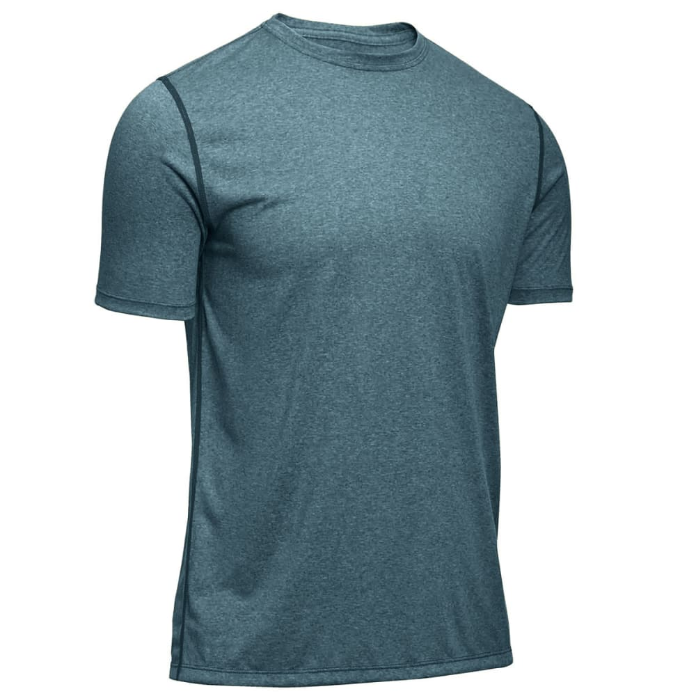 EMS® Men's Techwick® Essentials Short-Sleeve Crew   - BALSAM HEATHER