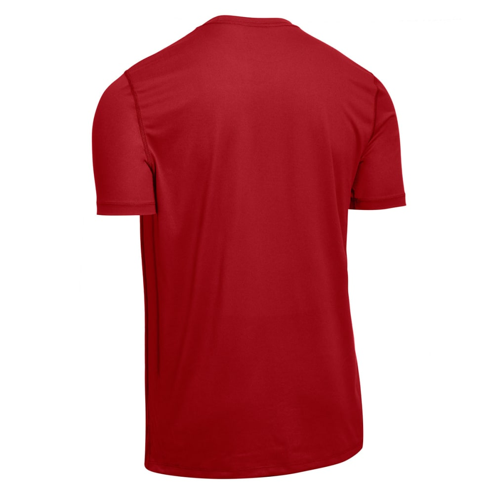EMS® Men's Techwick® Essentials Short-Sleeve Crew  - CHILI PEPPER