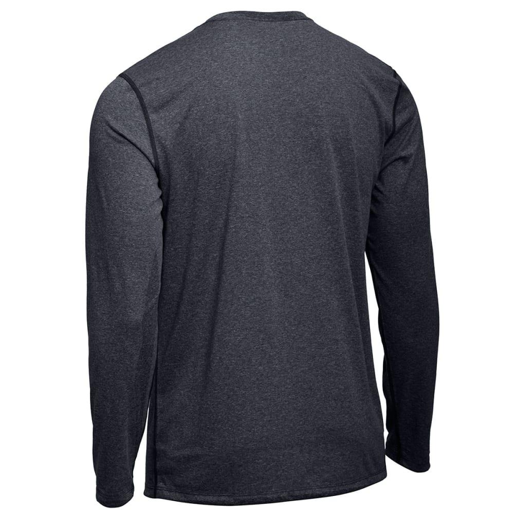 EMS® Men's Techwick® Essentials Long-Sleeve Crew  - JET BLACK