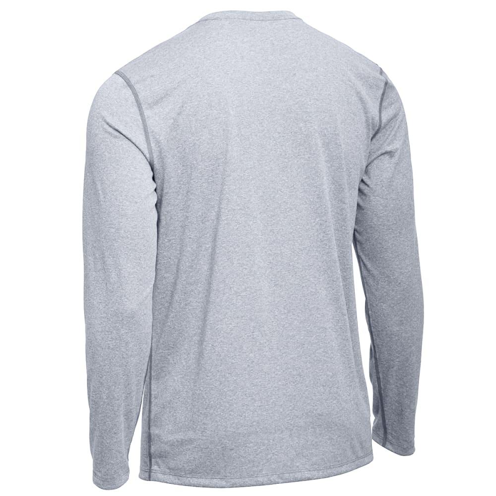 EMS® Men's Techwick® Essentials Long-Sleeve Crew - NEUTRAL GREY HEATHER