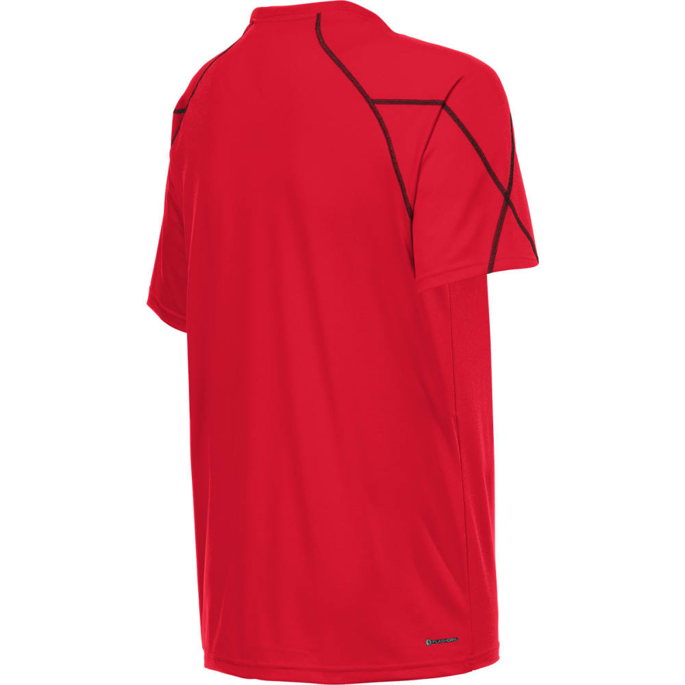 THE NORTH FACE Men's Voltage Short-Sleeve Crew Neck Tee Shirt - TNF RED