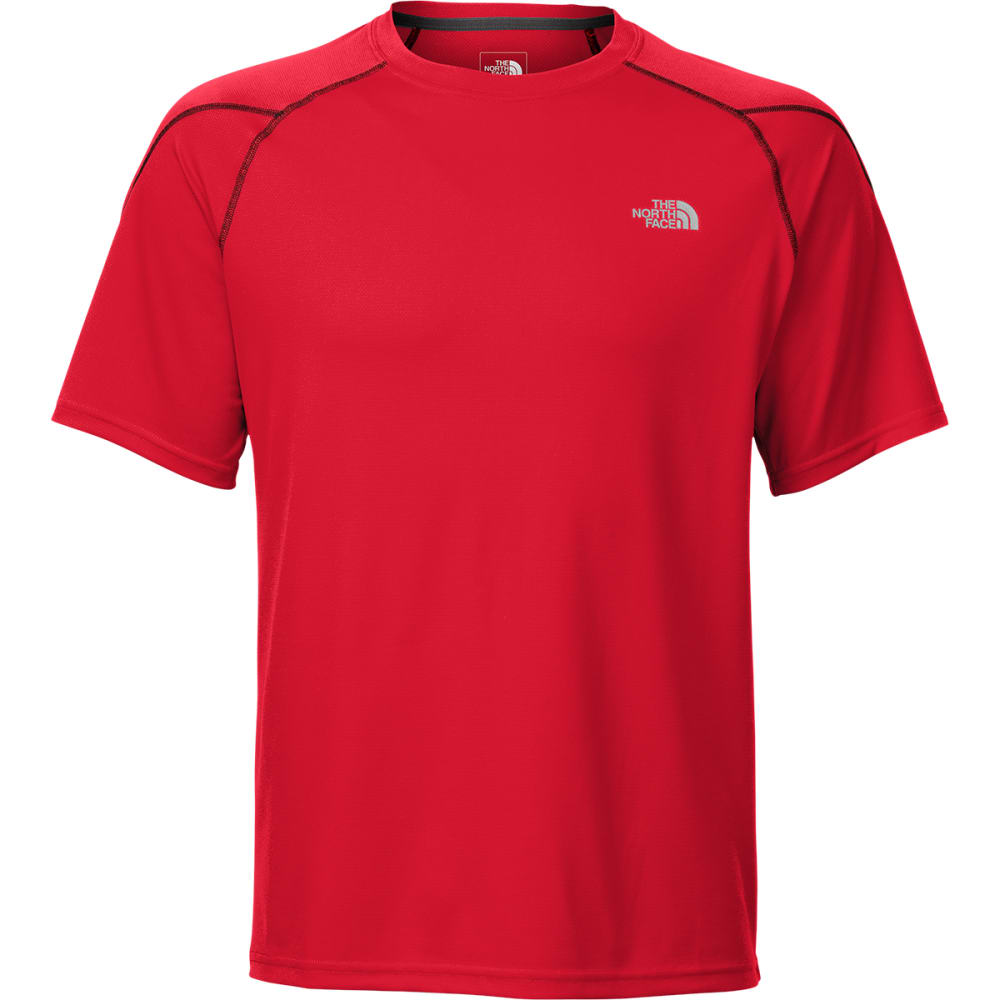 The north face men 39 s voltage short sleeve crew neck tee shirt for Mens crew neck tee shirts