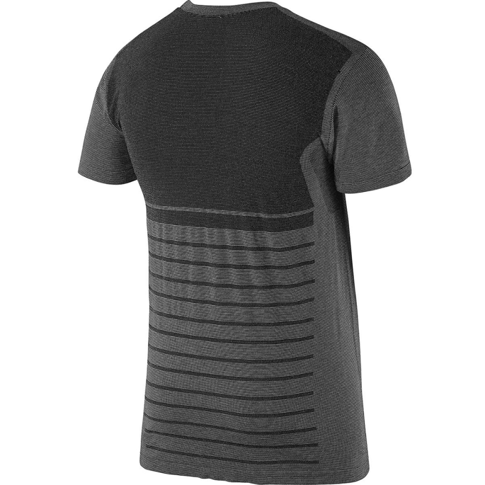 SALOMON Men's Elevate Seamless Tee - BLACK