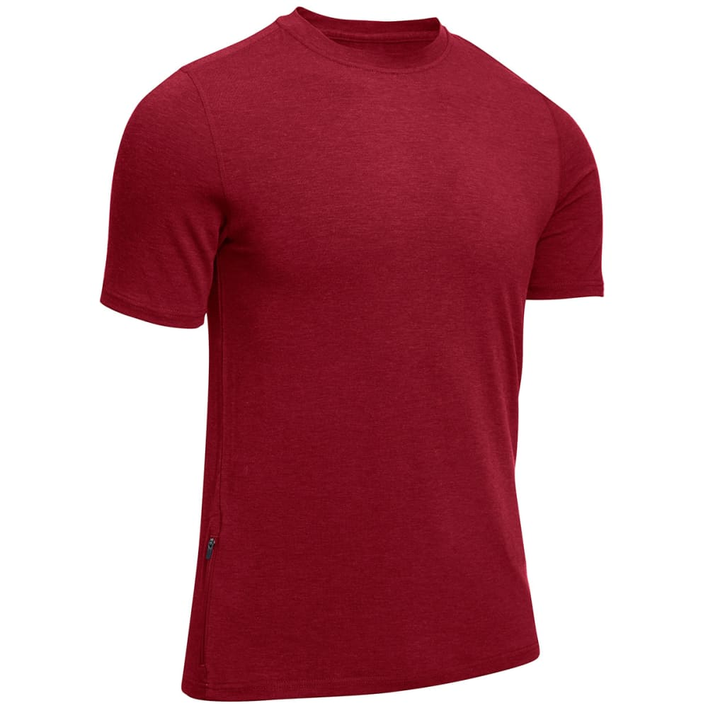 EMS® Men's Techwick®  Journey Short-Sleeve Tee - BIKING RED