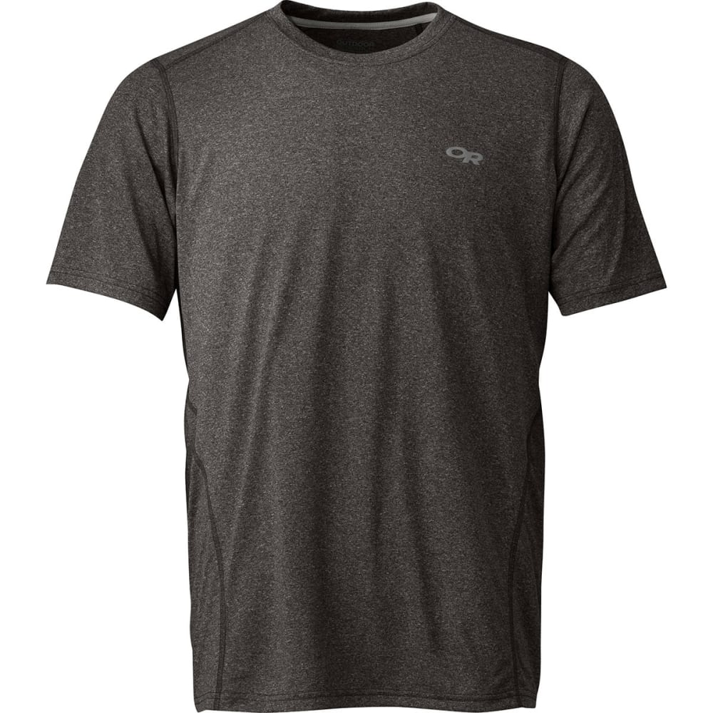 OUTDOOR RESEARCH Men's Ignitor Short-Sleeve  Tee - CHARCOAL