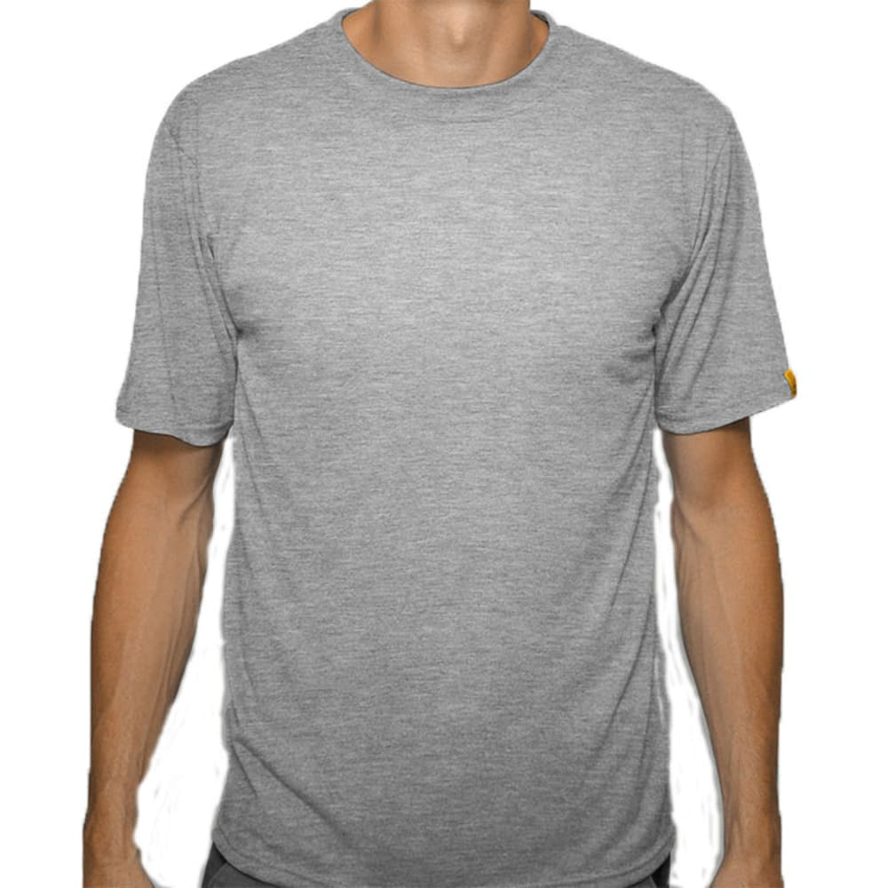 SPORT SCIENCE WEAR Men's Smarter Short-Sleeve Tee - GREY HEATHER