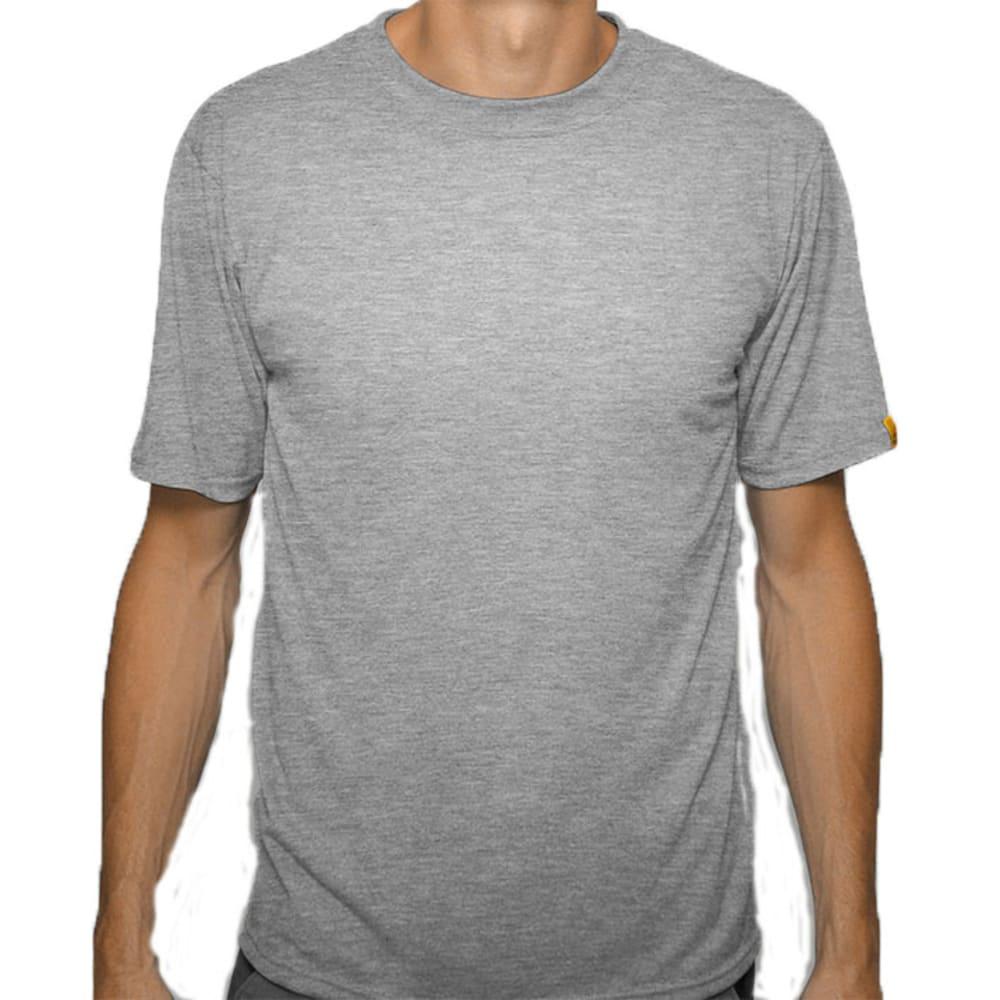 SPORT SCIENCE WEAR Men's Smarter Short-Sleeve Tee - GREY HEATHER