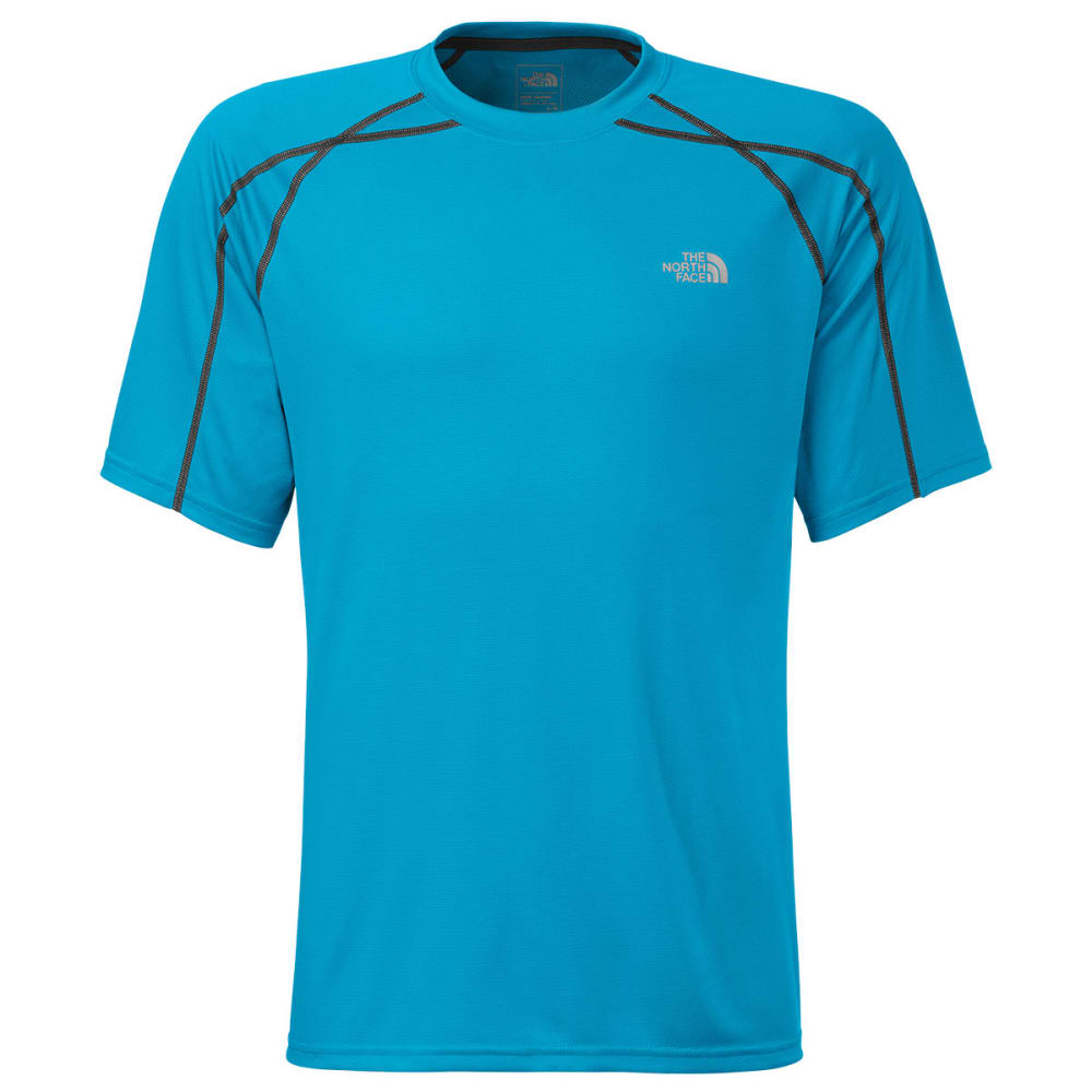 THE NORTH FACE Men's Voltage Short-Sleeve Crew - QUILL BLUE