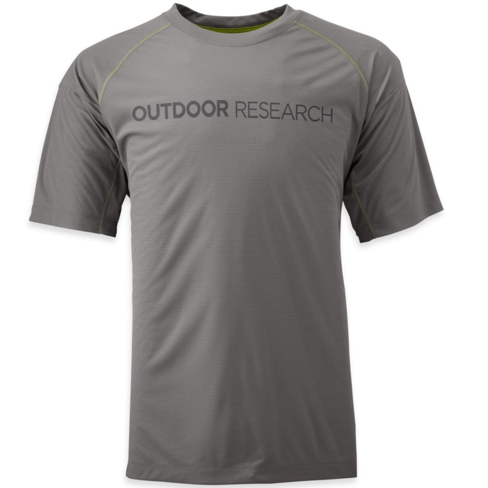OUTDOOR RESEARCH Men's Echo Graphic Tee - PEWTER/CHARCOAL