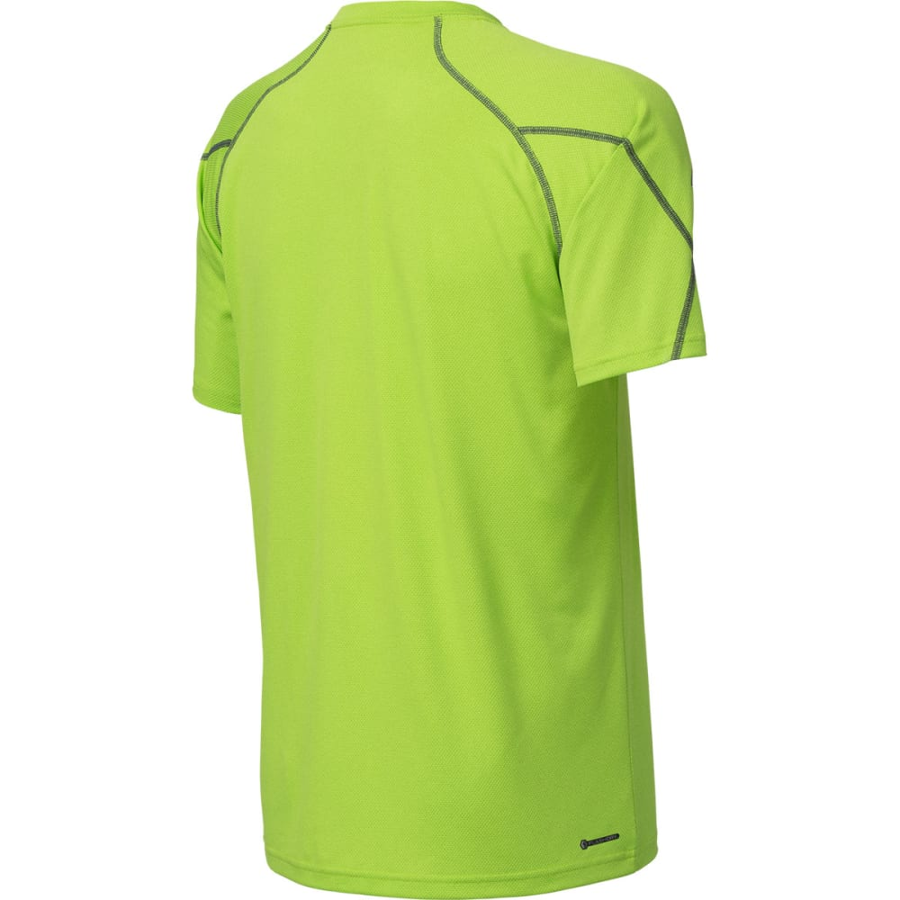 THE NORTH FACE Men's Voltage Short-Sleeve Crew - MACAW GREEN