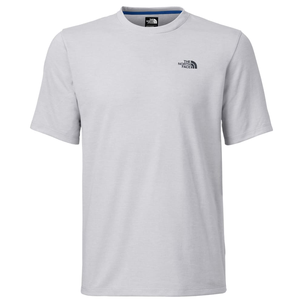 THE NORTH FACE Men's Short-Sleeve Crag Crew - TNF LT GREY HTHR