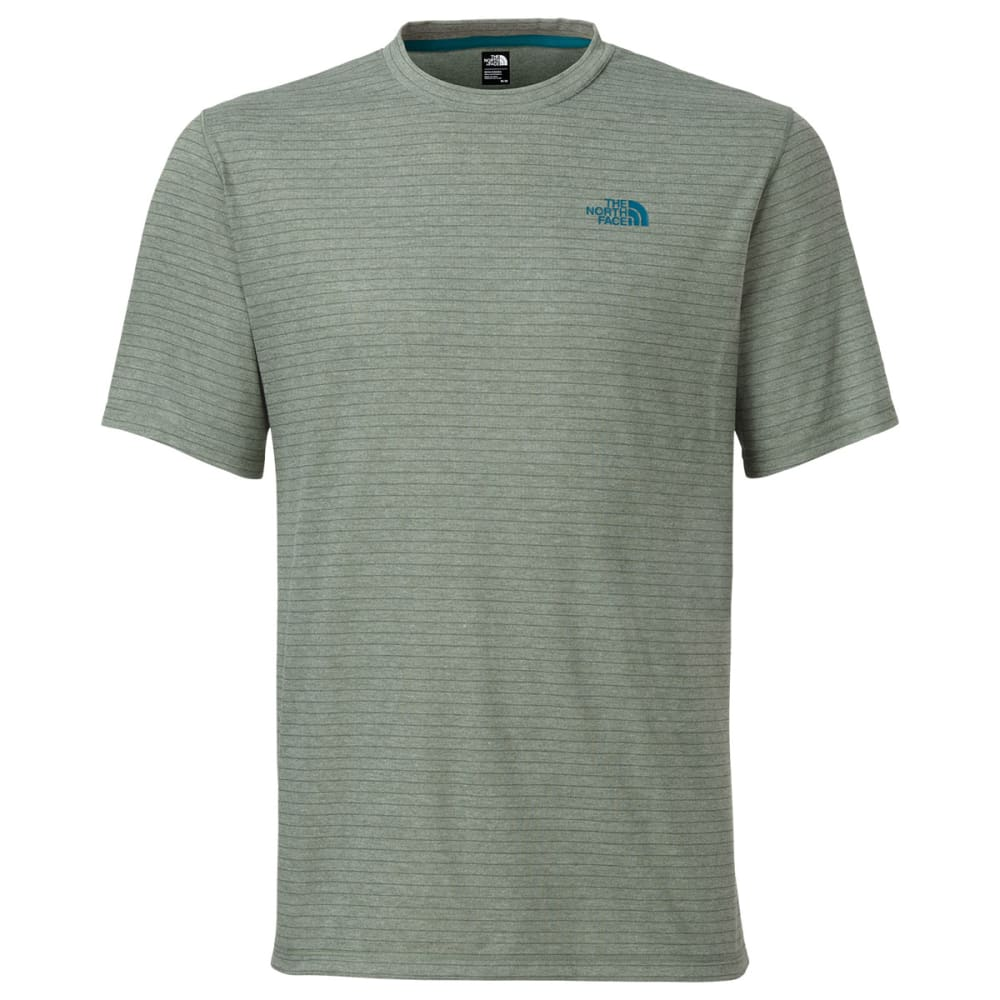THE NORTH FACE Men's Short-Sleeve Crag Crew - LAUREL WREATH STRIPE