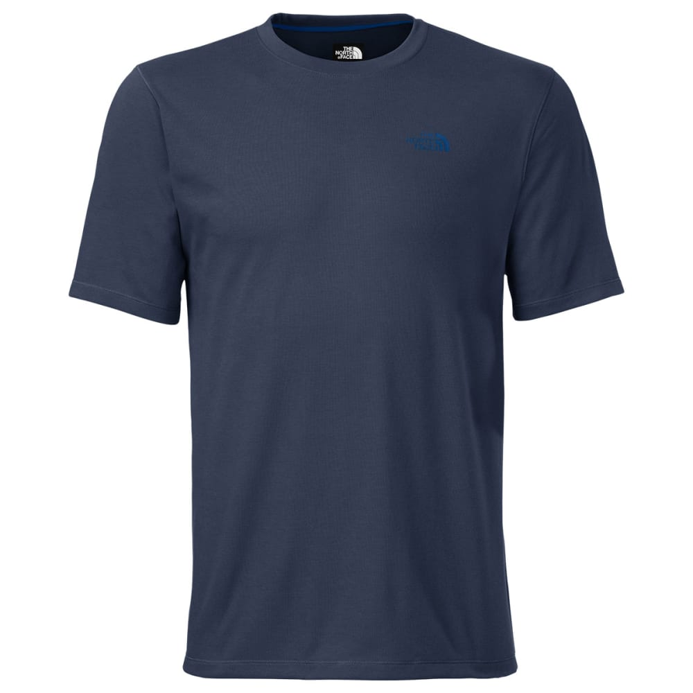 THE NORTH FACE Men's Short-Sleeve Crag Crew - COSMIC BLUE