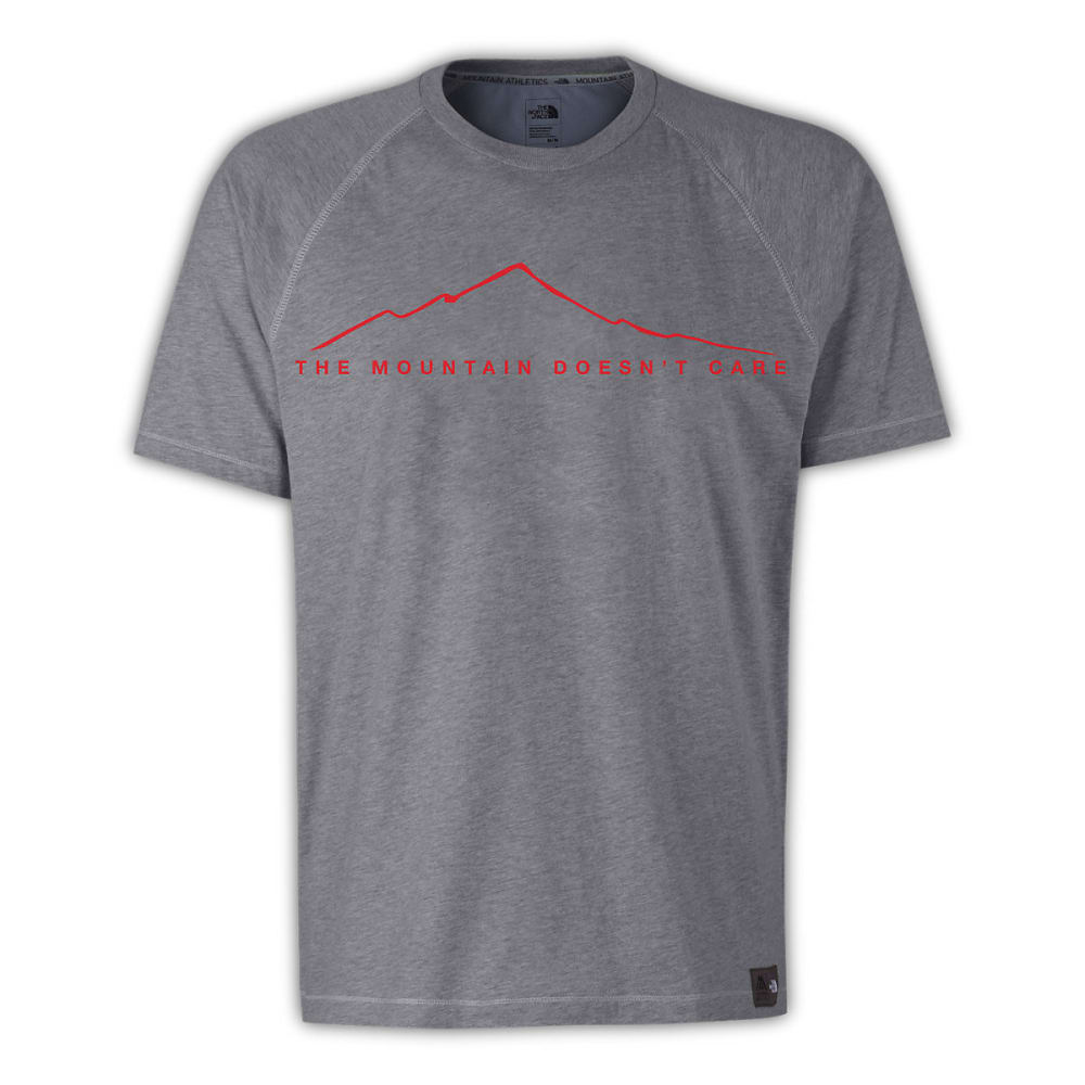 THE NORTH FACE Men's Recking Graphic Tee - MEDIUM GREY