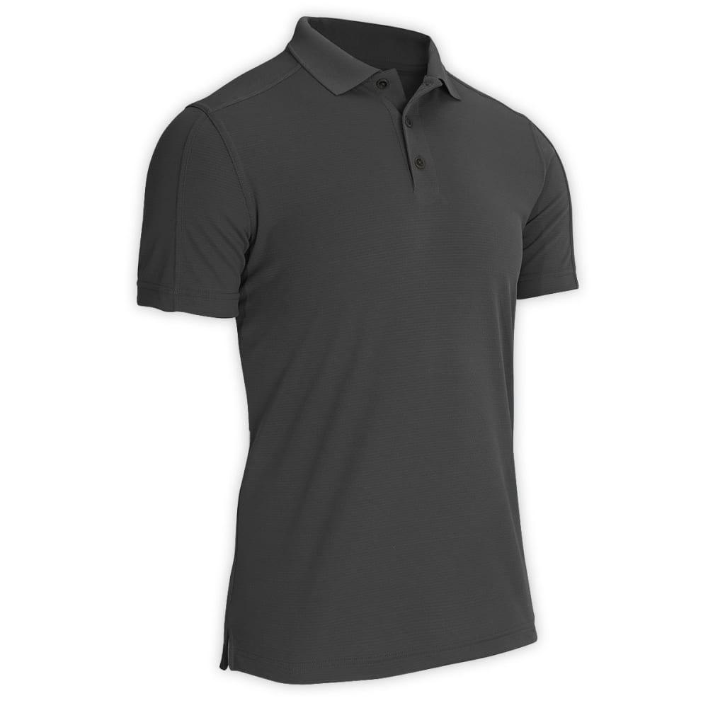 EMS® Men's Travel Short-Sleeve Polo  - DARK ASH