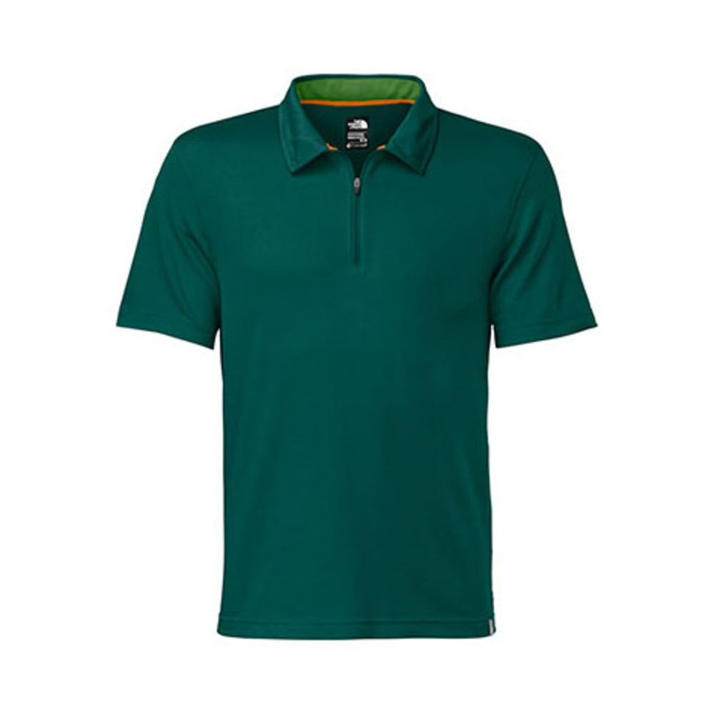 THE NORTH FACE Men's Groveland FlashDry Polo, S/S - DEEP TEAL