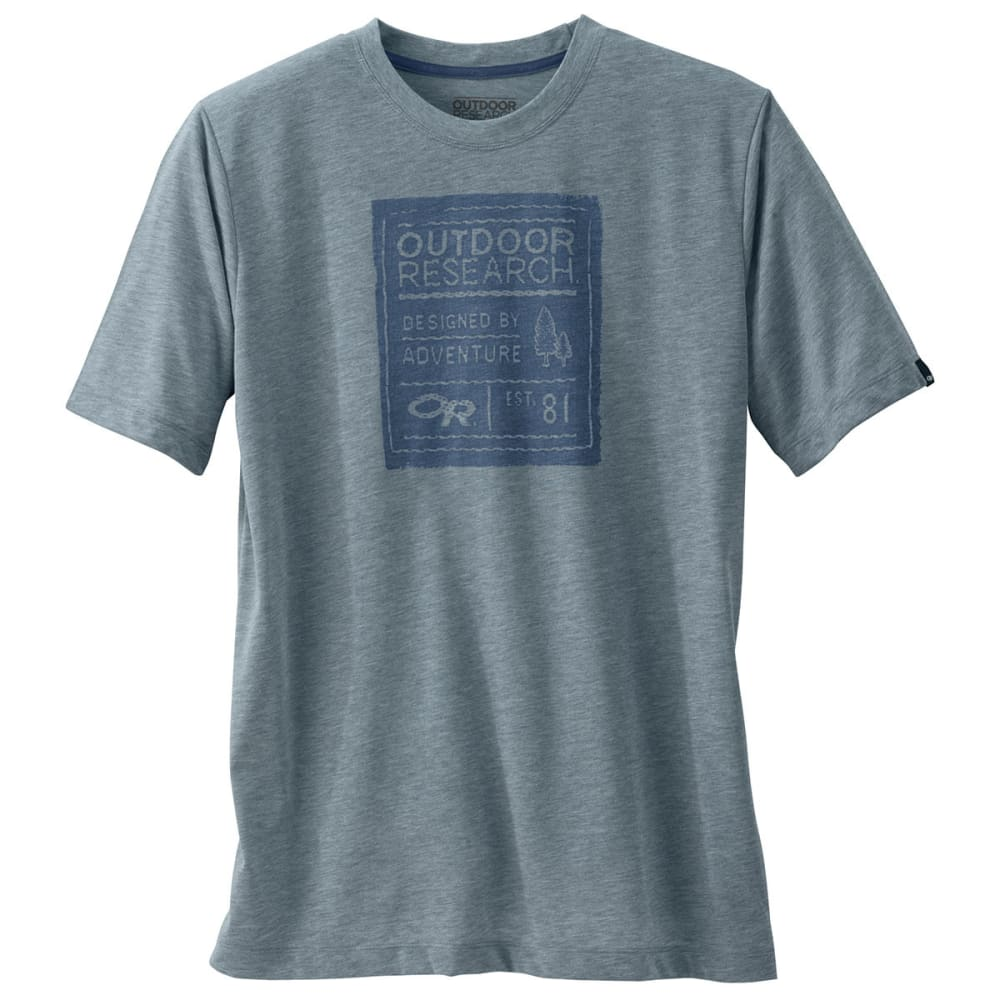 OUTDOOR RESEARCH Men's Tag Tech Tee - DUSK