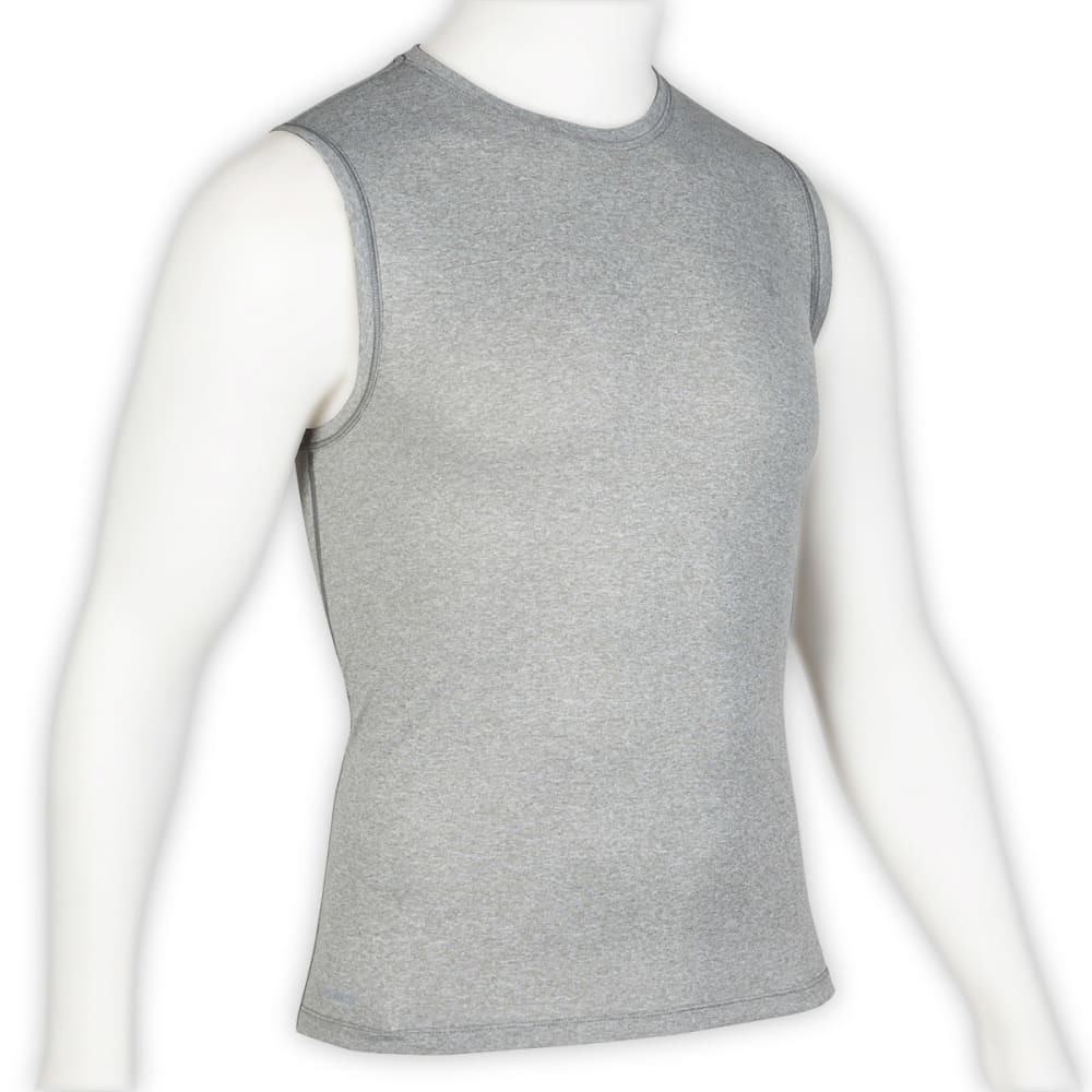 EMS® Men's Techwick® Essentials Sleeveless Shirt   - NEUTRAL GREY