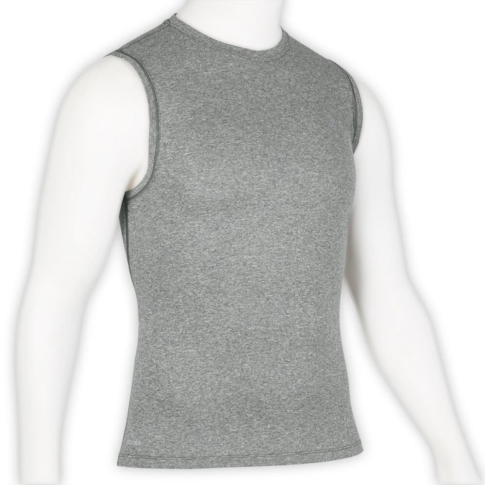 EMS Men's Techwick Essentials Sleeveless Shirt - NEUTRAL GREY HEATHER