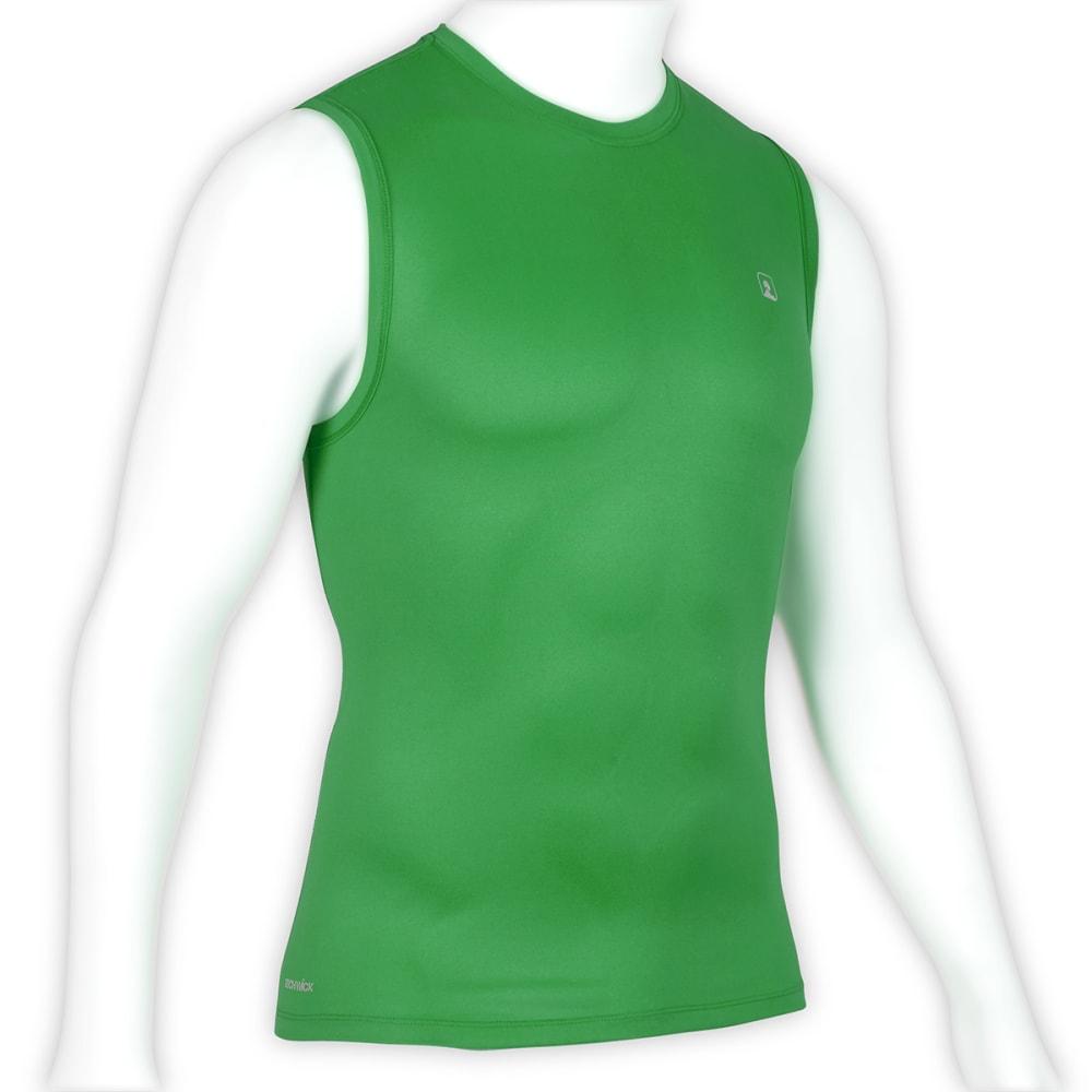 EMS Men's Techwick Essentials Sleeveless Shirt - MED. GREEN