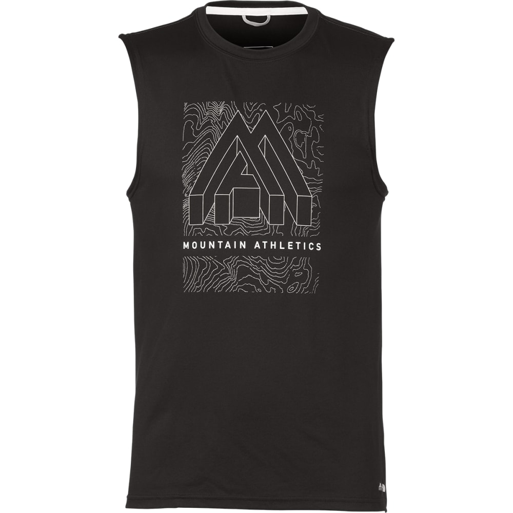 THE NORTH FACE Men's Graphic Reaxion Amp Sleeveless Tee - TNF BLACK