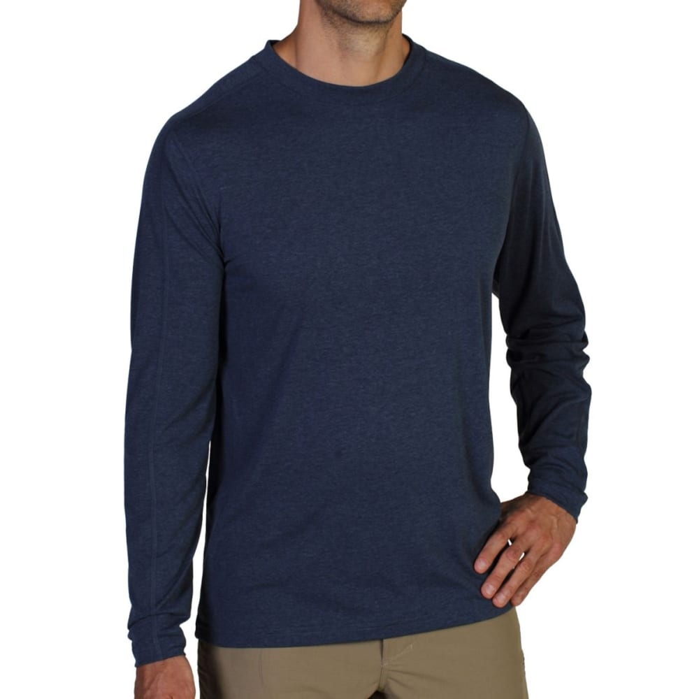 EXOFFICIO Men's NioClime Long-Sleeve Shirt   - MIDNIGHT