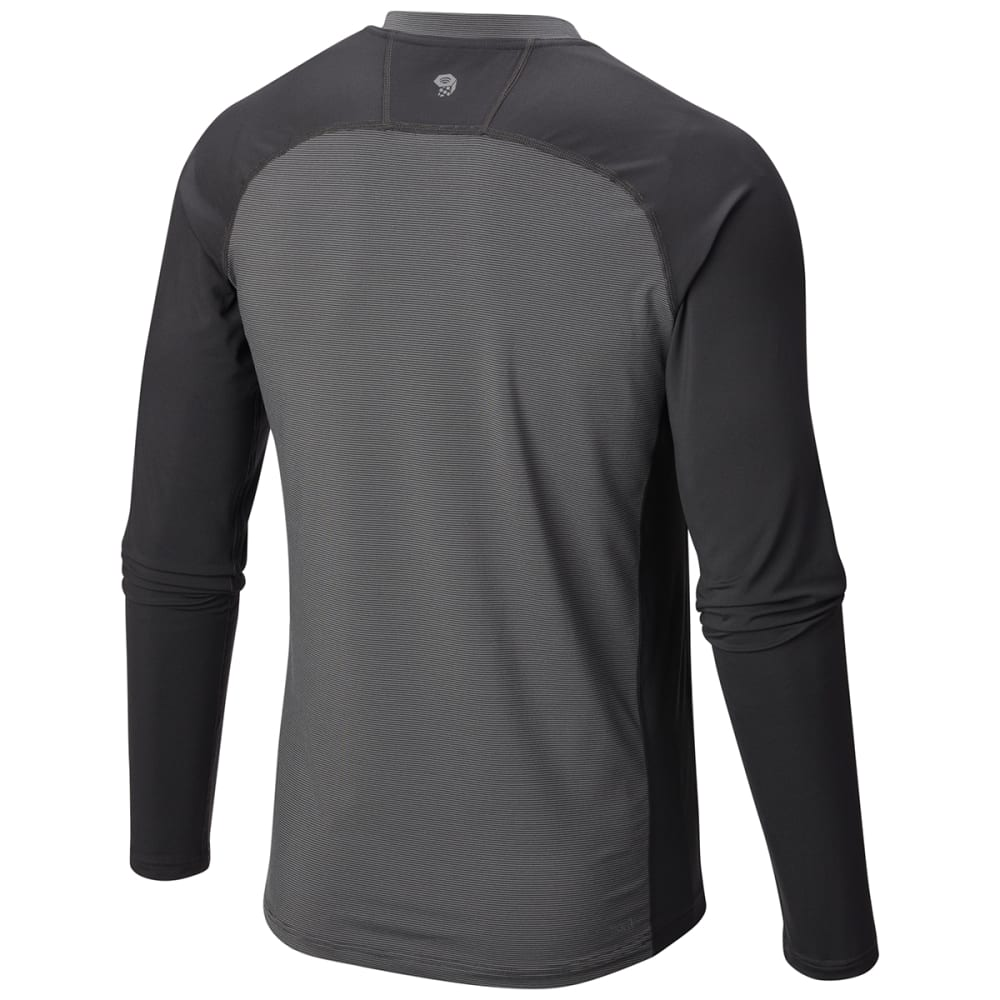 MOUNTAIN HARDWEAR Men's Butterman   Long-Sleeve Crew - 011-SHARK