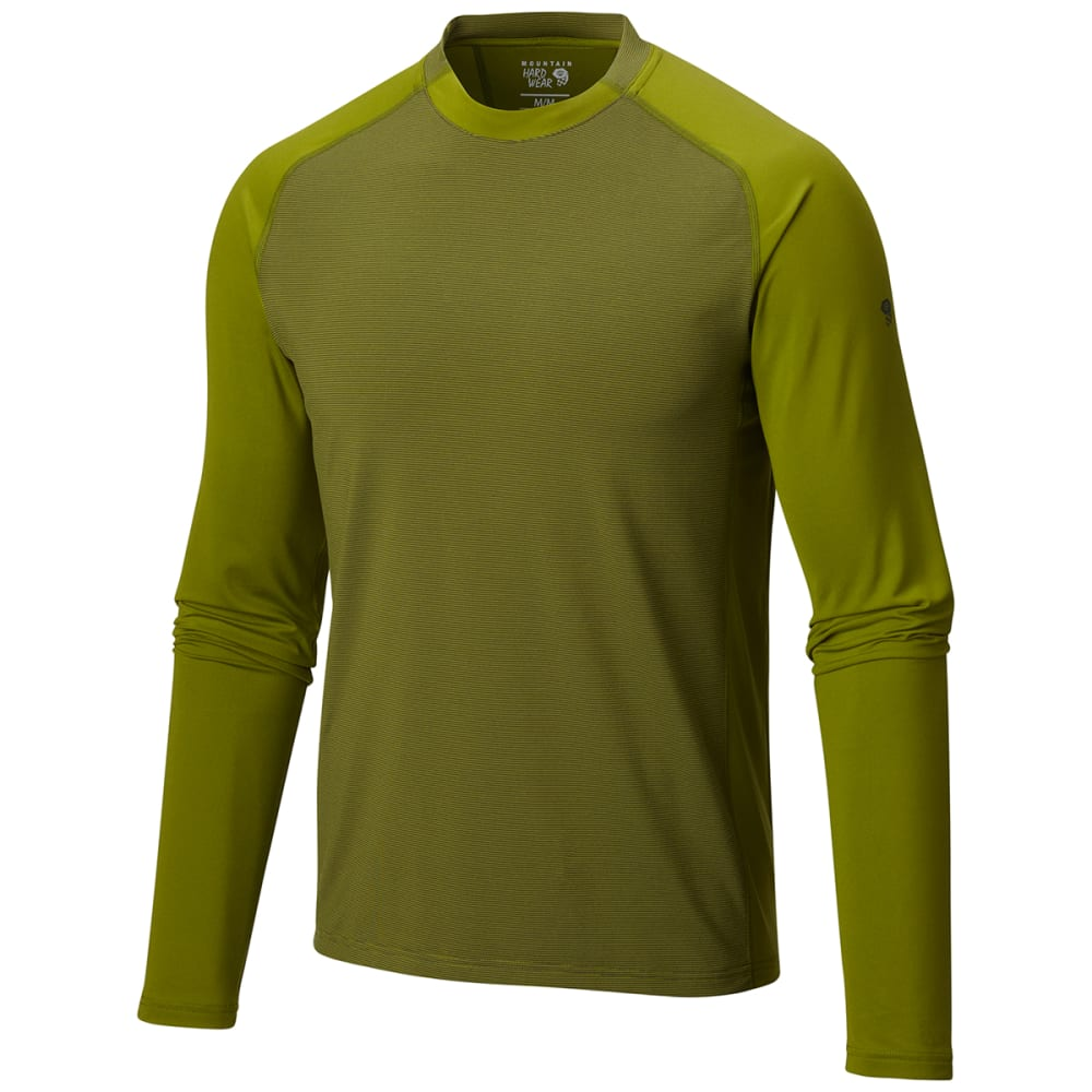 MOUNTAIN HARDWEAR Men's Butterman   Long-Sleeve Crew - ELM