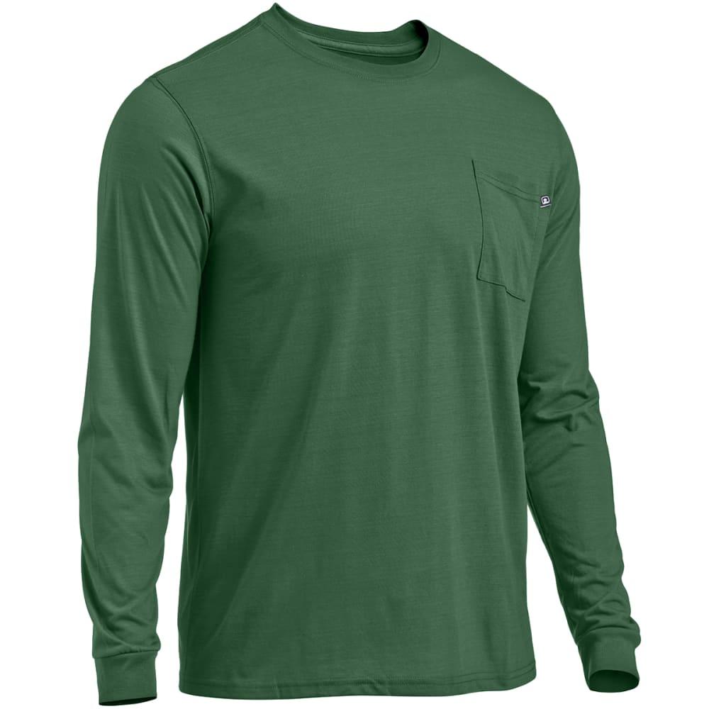 EMS® Men's Techwick® Vital Long-Sleeve Pocket Tee  - EDEN