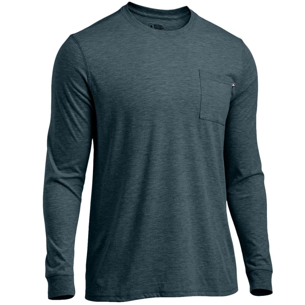 EMS® Men's Techwick® Vital Long-Sleeve Pocket Tee - DARKEST SPRUCE HTR