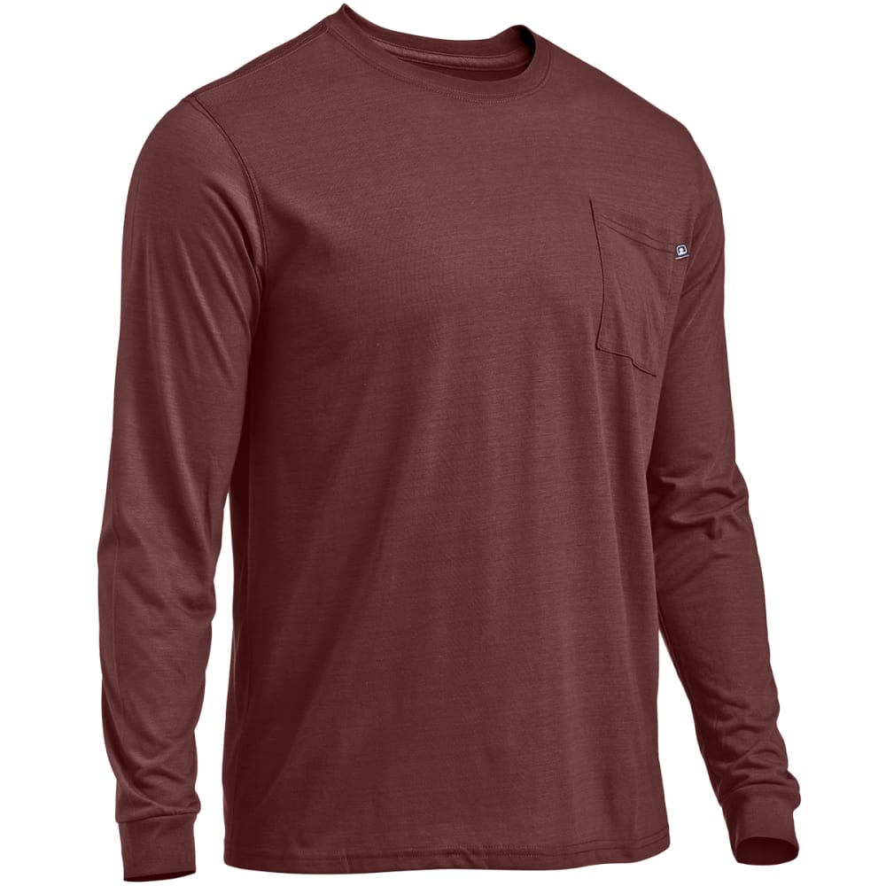 EMS® Men's Techwick® Vital Long-Sleeve Pocket Tee   - ANDORRA