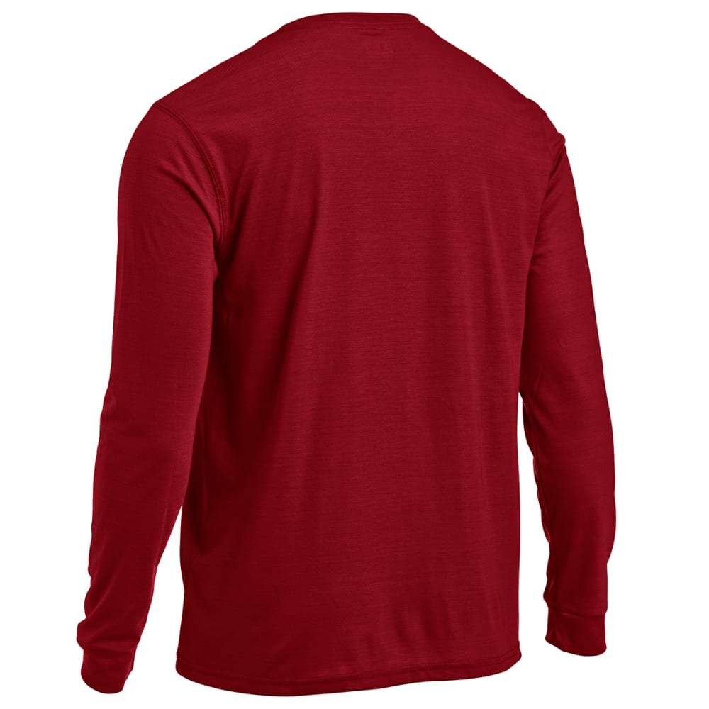 EMS® Men's Techwick® Vital Long-Sleeve Pocket Tee   - BIKING RED