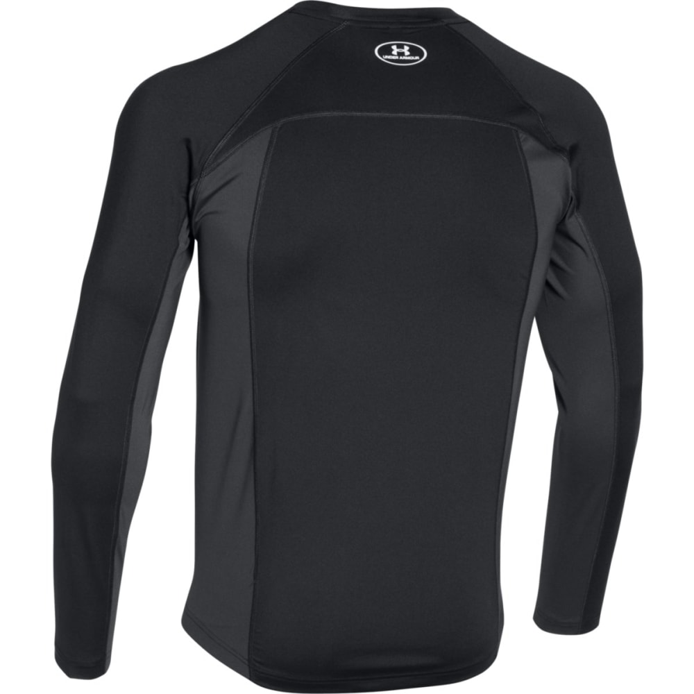 Under armour men 39 s coolswitch trails long sleeve shirt for Under armour half sleeve shirt