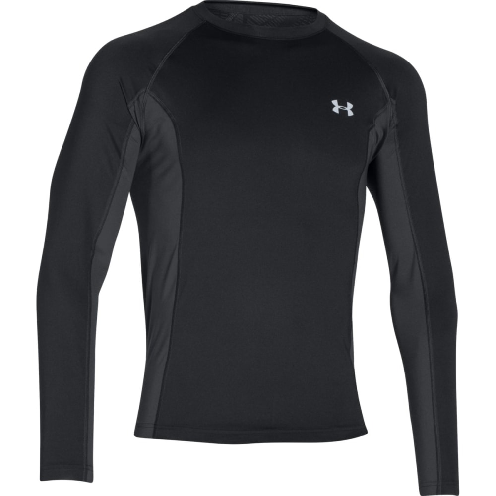 UNDER ARMOUR Men's CoolSwitch Trails Long-Sleeve Shirt - BLACK