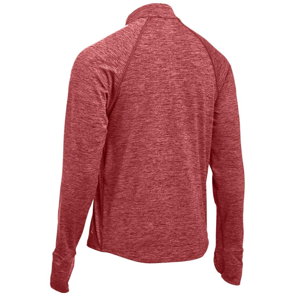 EMS® Men's Techwick® Transition  ½ Zip  - BRICK RED HEATHER