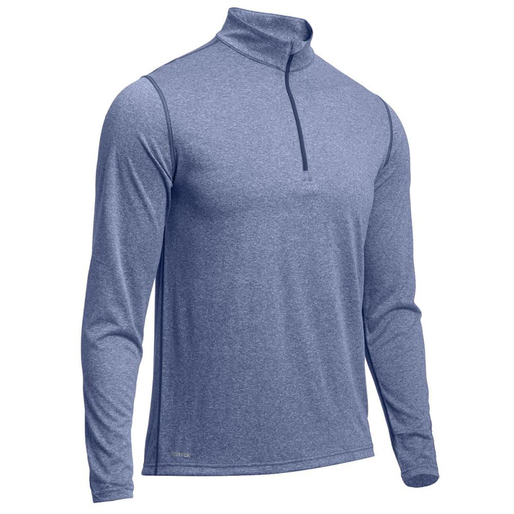 EMS® Men's Techwick® Essentials  ¼ Zip  - ENSIGN BLUE