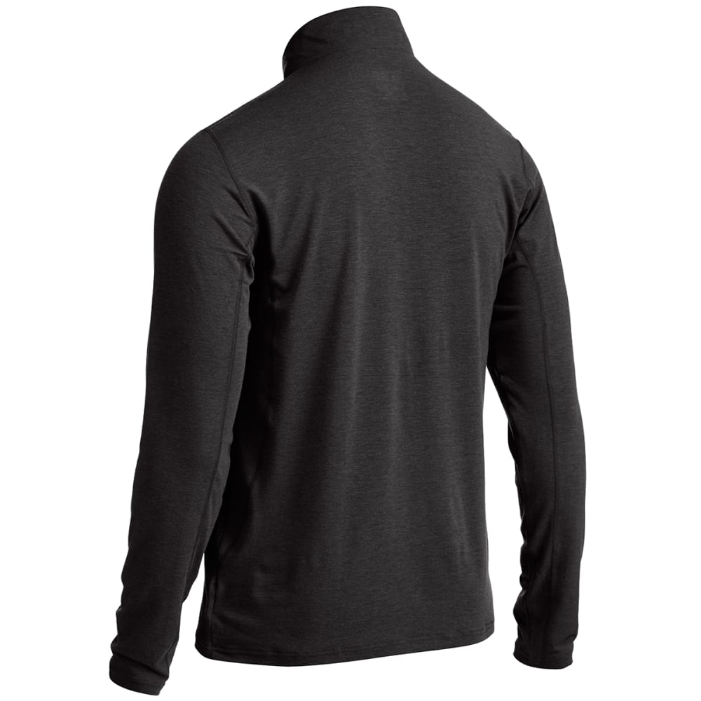 EMS® Men's Techwick® Journey  ¼-Zip  - JET BLACK