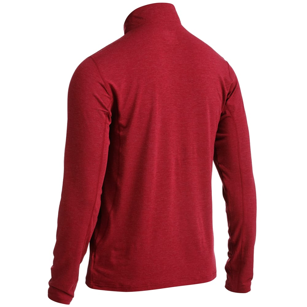 EMS® Men's Techwick® Journey  ¼-Zip  - BIKING RED