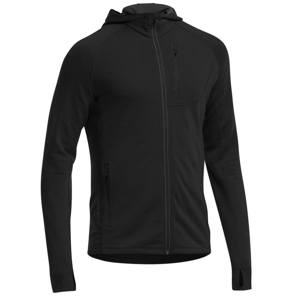 Icebreaker Men's Quantum Zip Hoodie - Black - Size XL 101465