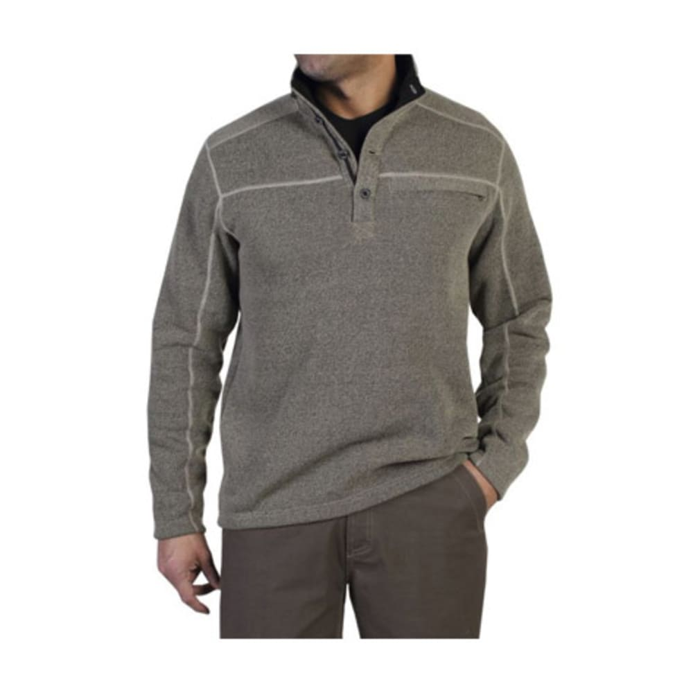 EXOFFICIO Men's Alpental Pullover  - WALNUT