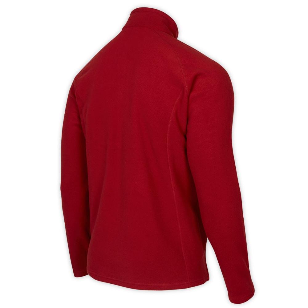EMS® Men's Coldsnap Micro fleece ¼ Zip - DEEP RED