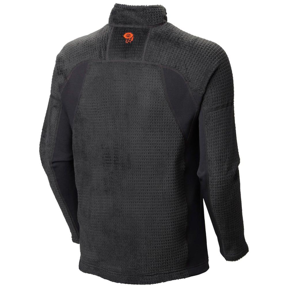 MOUNTAIN HARDWEAR Men's Monkey Grid Fleece Pullover - DARK GREY