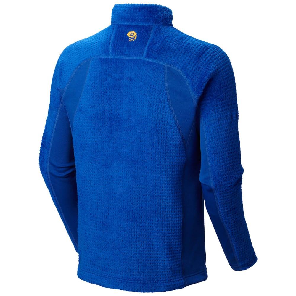 MOUNTAIN HARDWEAR Men's Monkey Grid Fleece Pullover - ROYAL BLUE