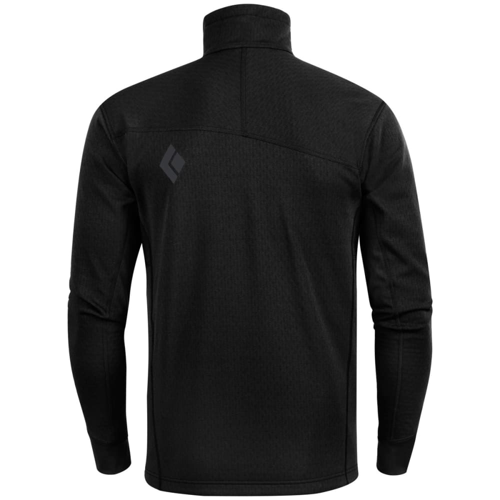 BLACK DIAMOND Men's CoEfficient Quarter Zip - BLACK
