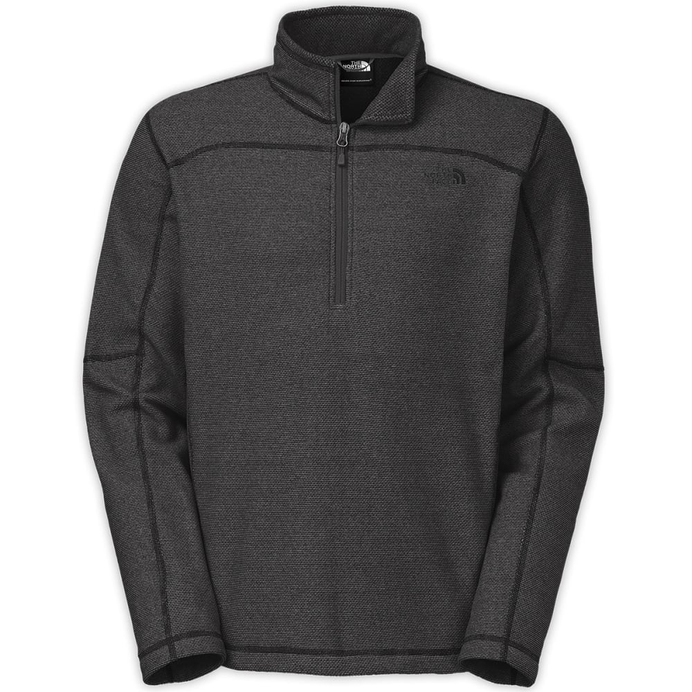 THE NORTH FACE Men's Texture Cap Rock ¼ Zip Jacket - ASPHALT GREY