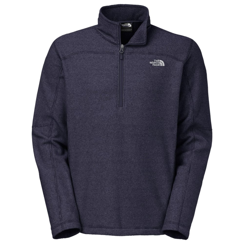 THE NORTH FACE Men's Texture Cap Rock ¼ Zip Jacket - COSMIC BLUE