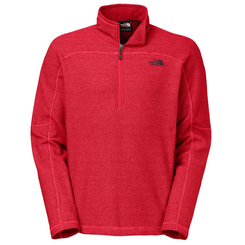 THE NORTH FACE Men's Texture Cap Rock ¼ Zip Jacket - TNF RED