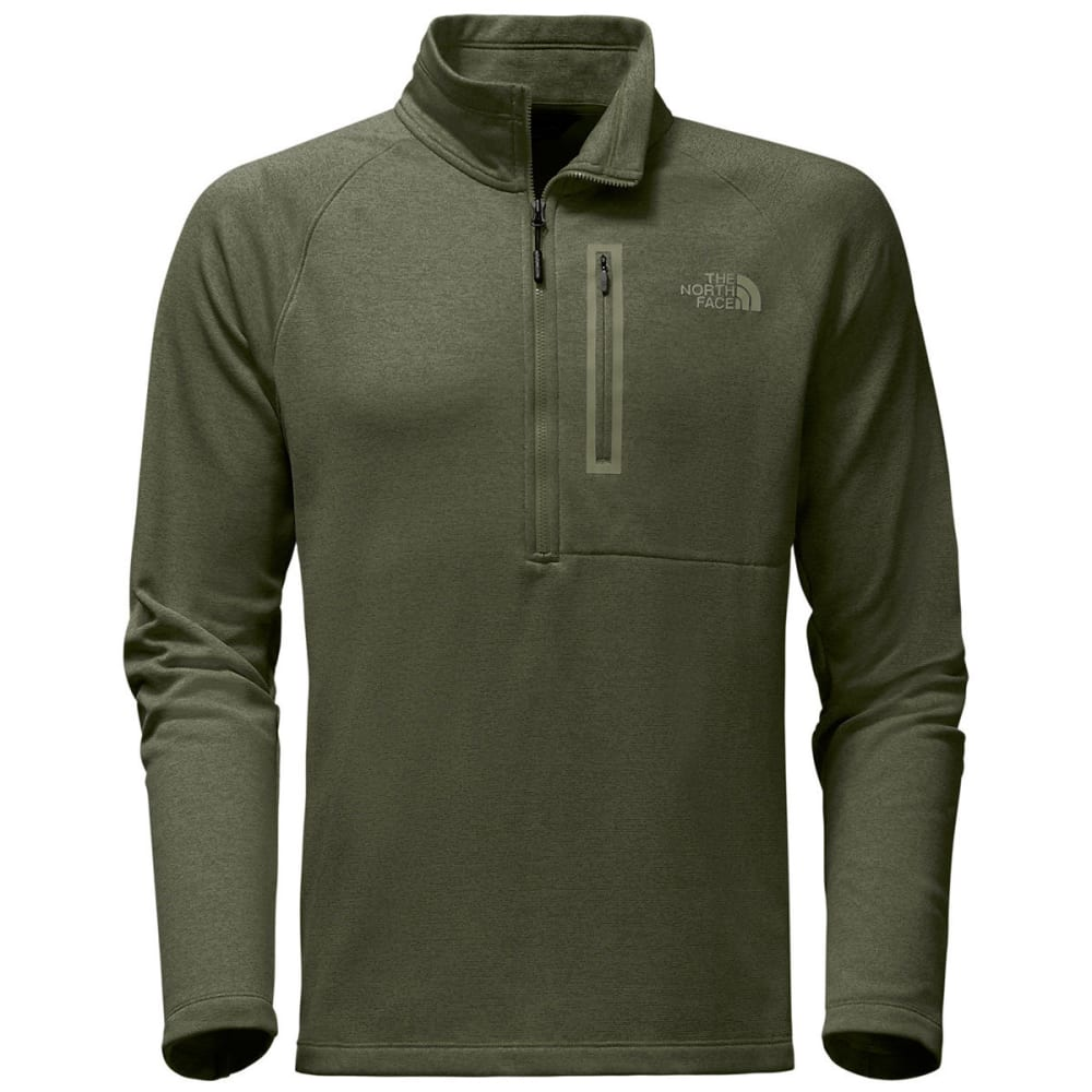 THE NORTH FACE Men's Canyonlands ½ Zip - SQCV-THYME HTR