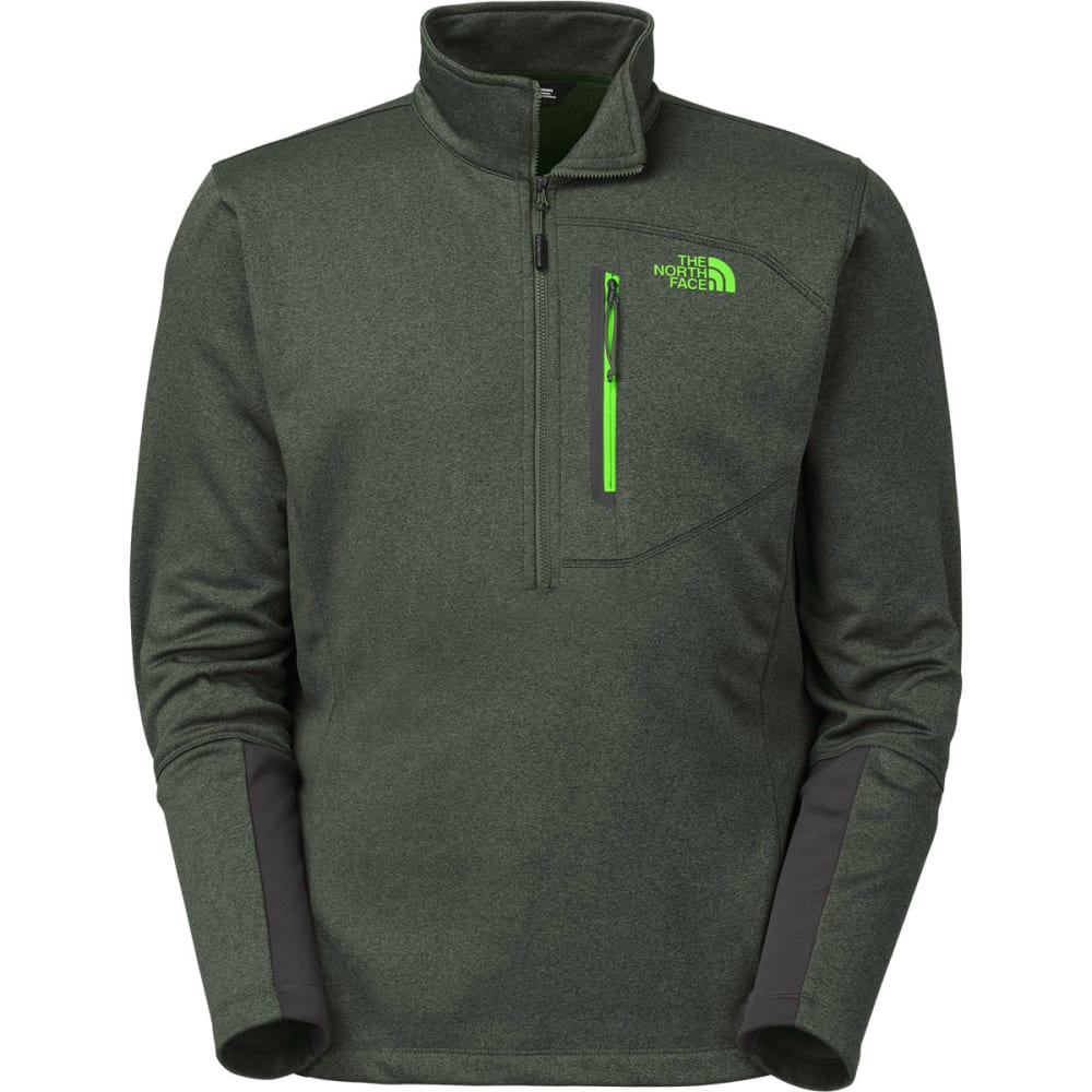 THE NORTH FACE Men's Canyonlands ½ Zip - DARK CEDAR GREEN